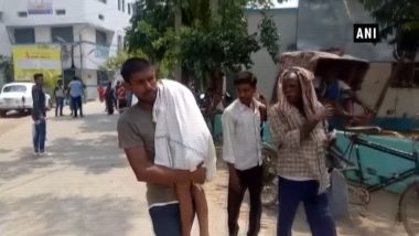 Father Forced to Carry Child's Body on His Shoulder's Due to Unavailability of Ambulance in Bihar's Nalanda